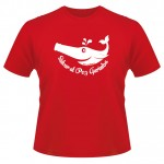 "Modelo de camiseta ""Salvar al Pez Garimba"""