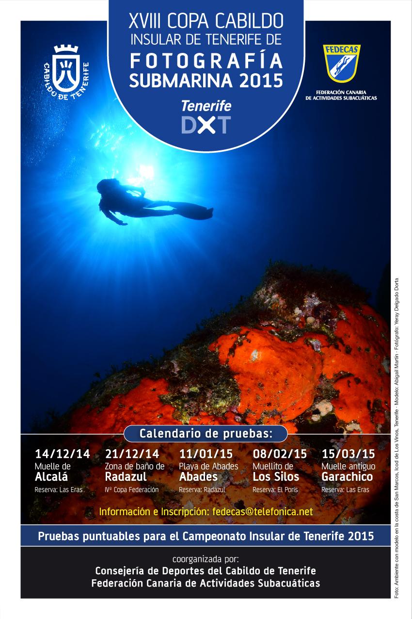 Calendario Fotosub – Copa Cabildo de Tenerife – 2015