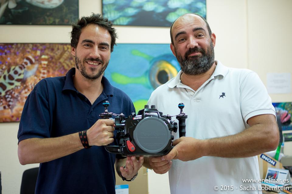 Renovando equipo – Nikon D7200 en caja estanca Nauticam NA 7200