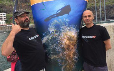 Sacha Lobenstein y Carlos González Acebes, Campeones de Tenerife Fotosub 2016
